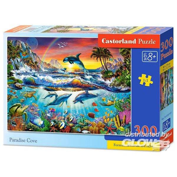 Delphinen im Paradies Puzzle 300 Stück