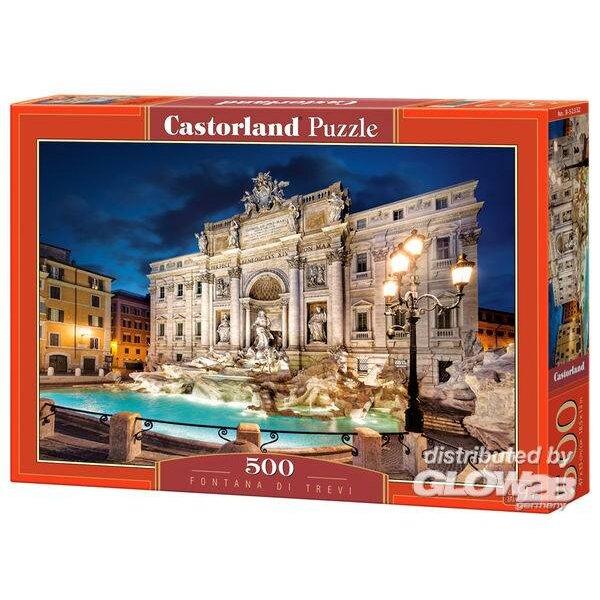 Trevi-Brunnen Puzzle 500 Stück