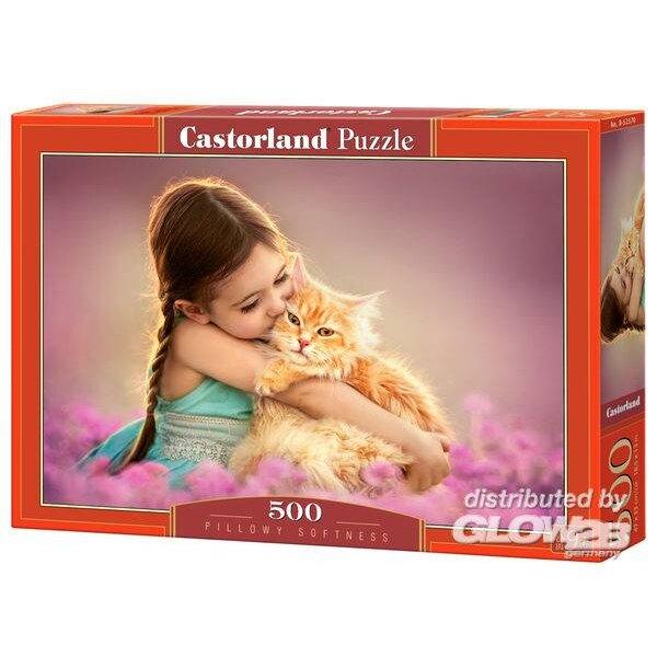 Puzzle Pillowy Softness, Puzzle 500 Teile Castorland B-52370