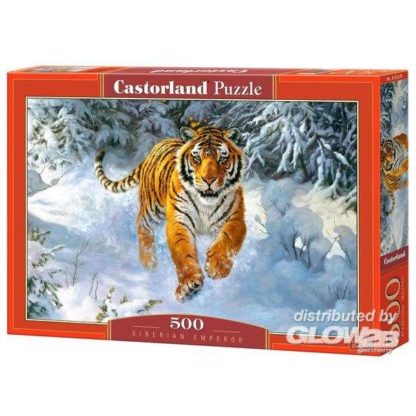 Sibirischer Kaiser Puzzle 500 Stück
