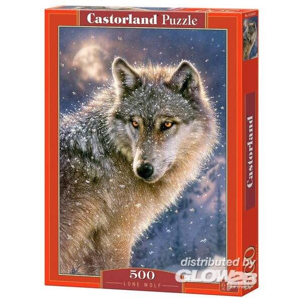 Einsamer Wolf Puzzle 500 Stück