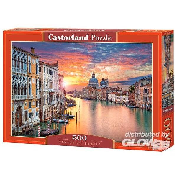 Venedig bei Sonnenuntergang Puzzle 500 Stück