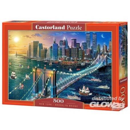 New York - Brooklyn Bridge Puzzle 500 Stück