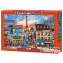 Puzzle Streets of Paris, Puzzle 500 Teile  Castorland B-52684
