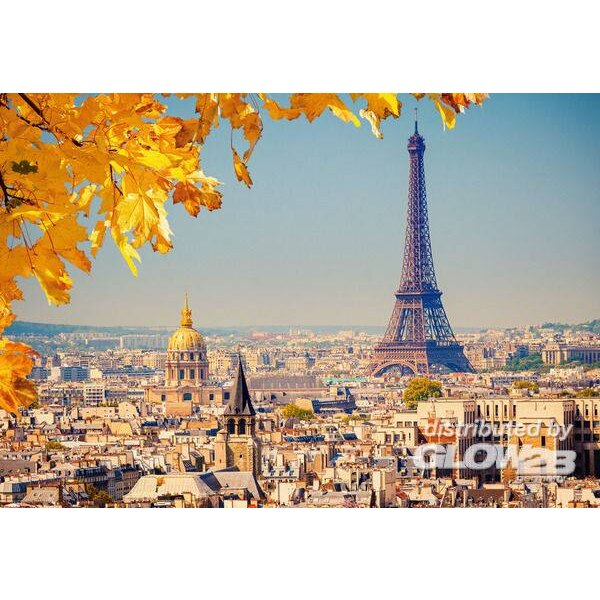 Autumn in Paris,Puzzle 1000 Teile