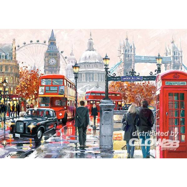 London-Collage Puzzle 1000 Stück
