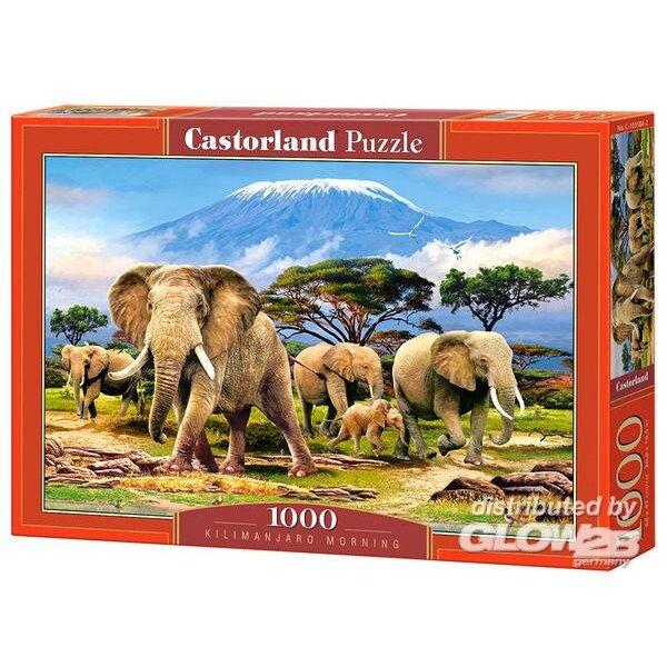 Kilimanjaro Morgen Puzzle 1000 Stück