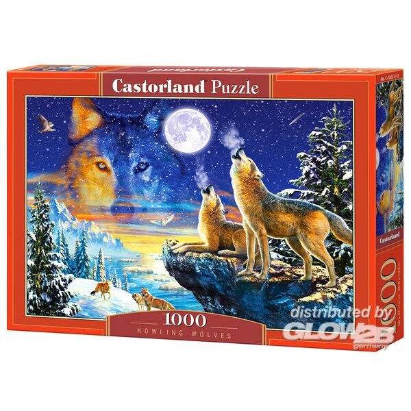Heulende Wölfe Puzzle 1000 Stück