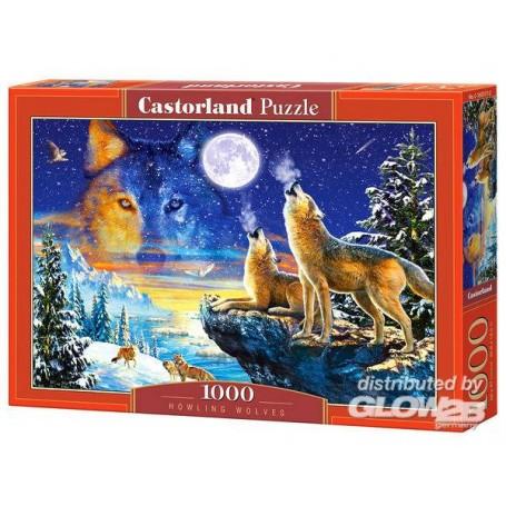 Puzzle Howling Wolves, Puzzle 1000 Teile  Castorland C-103317-2