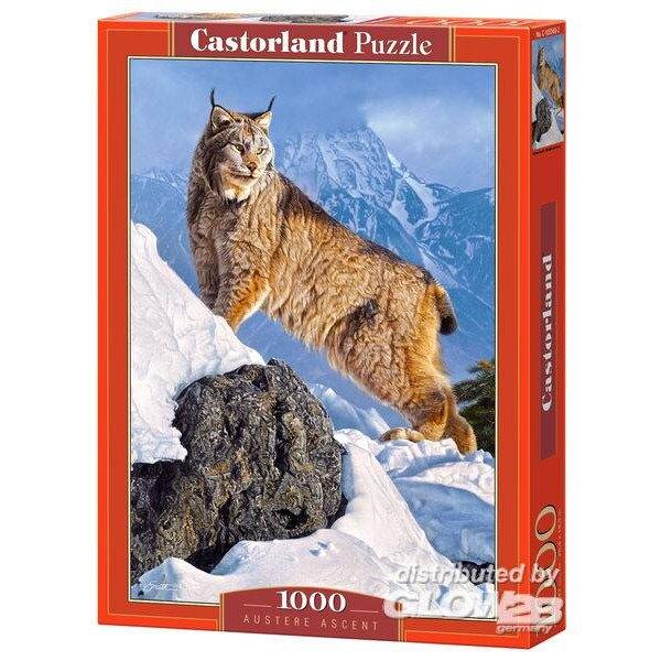 Lynx in den Bergen Puzzle 1000 Stück