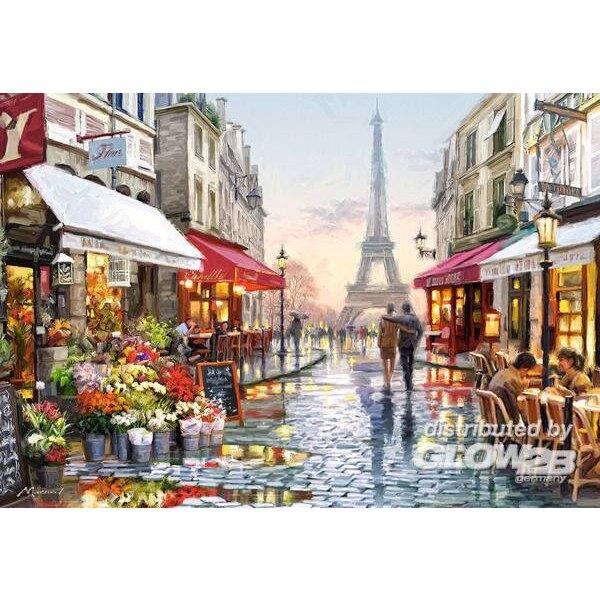 Blumenhändler Puzzle 1500 Stück