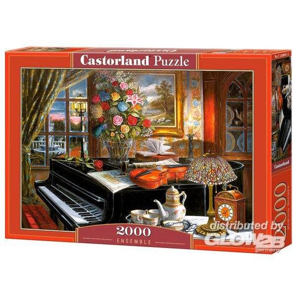 Eine Hündin und ihr Baby immer zusammen Puzzle 2000 Stück