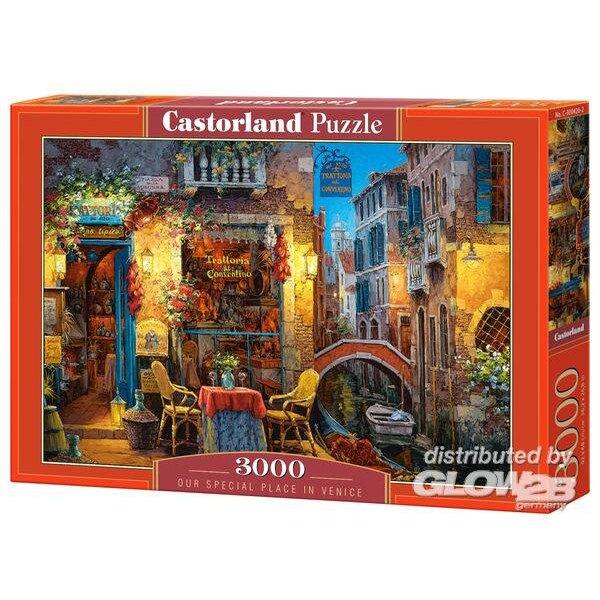 Unser spezieller Ort in Venedig Puzzle 3000 Stück