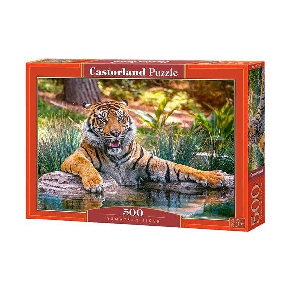 Sumatra-Tiger Puzzle 500 Stück