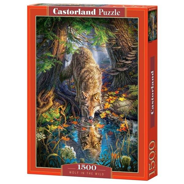 Wolf in der Natur Puzzle 1500 Stück