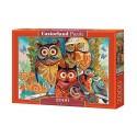 Puzzle Owls, Puzzle 2000 Teile  Castorland C-200535-2