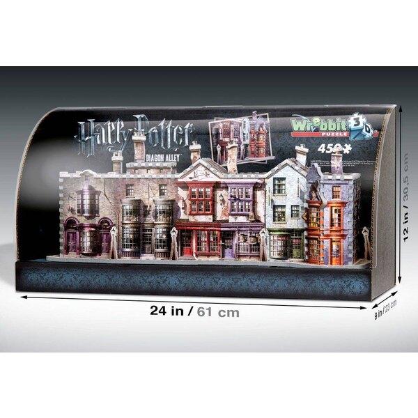 Harry Potter Built-Up Demo 3D Puzzle mit Display Case Winkelgasse Puzzle 3d 450 Stück