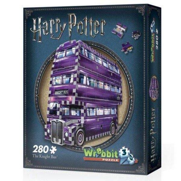 Puzzle 3d Harry Potter PAD Demo 3D Puzzle Fahrender Ritter Wrebbit Puzzle WP-PAD-0507