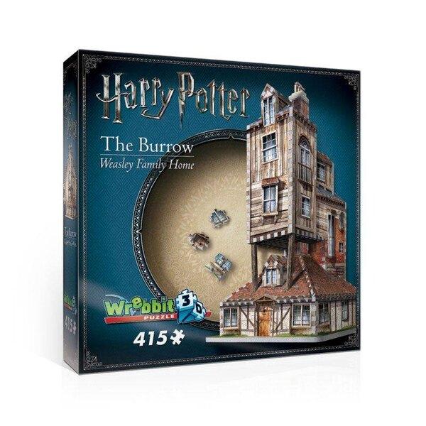 Harry Potter 3D Puzzle Fuchsbau (Haus der Weasley's) Puzzle 3d 415 Stück
