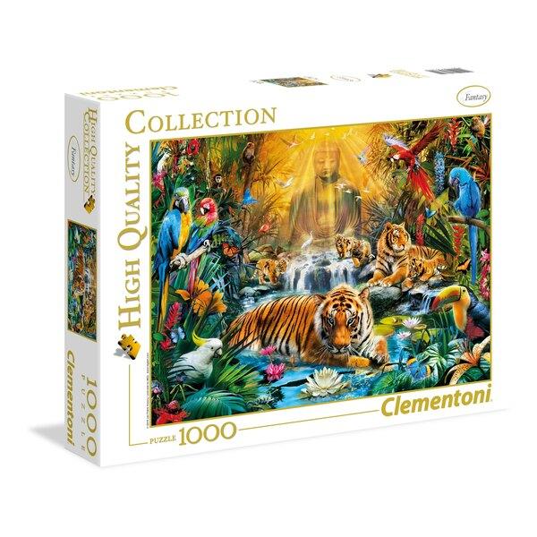 Die mystische Tiger  (A2x1) Puzzle 1000 Stück