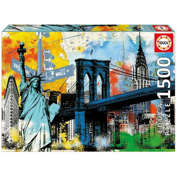 Freiheit in der Stadt  Puzzle 1500 Stück