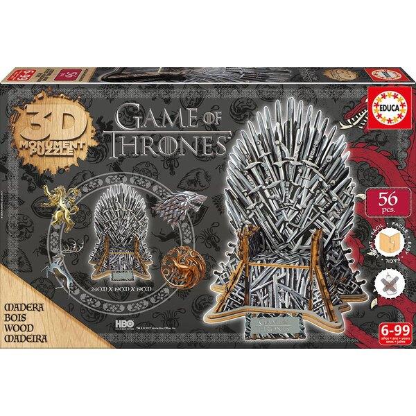 Monument 3D Puzzle Puzzle Game of Thrones Puzzle 3d