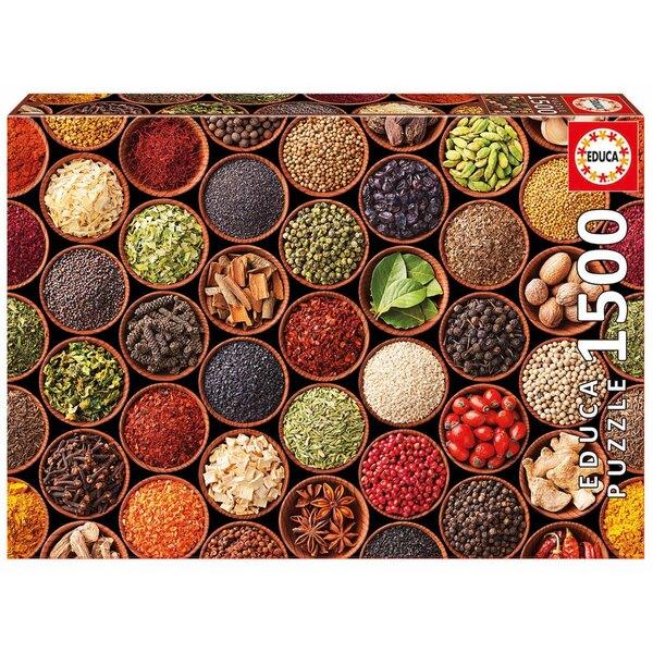 Gewürze und Würzmittel Puzzle 1500 Stück