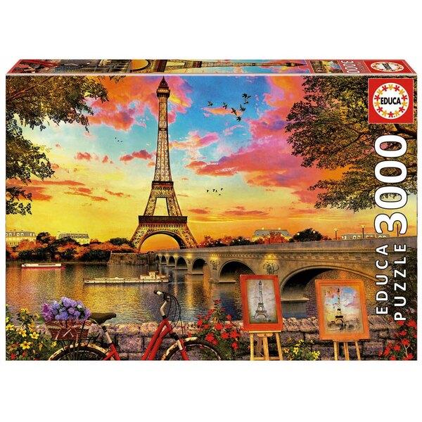 Abendsonne in Paris  Puzzle 3000 Stück