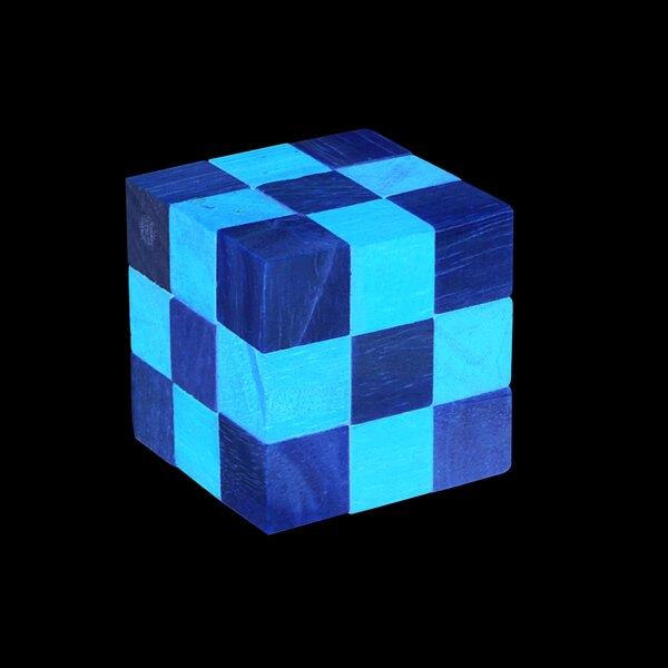 Puzzle Schlange - Orange