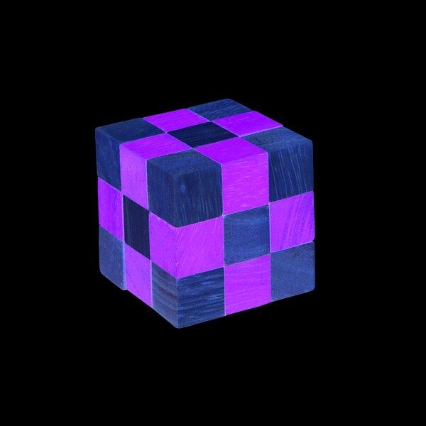 Puzzle Schlange - grün