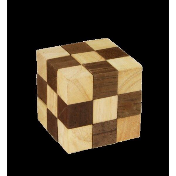 Puzzle Schlange - braun