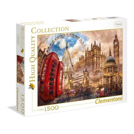 Puzzle Vintage London Clementoni CLE-31807