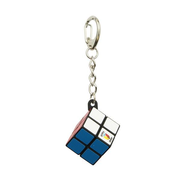 Einfacher Würfel-Schlüsselring - Karabiner-Clip