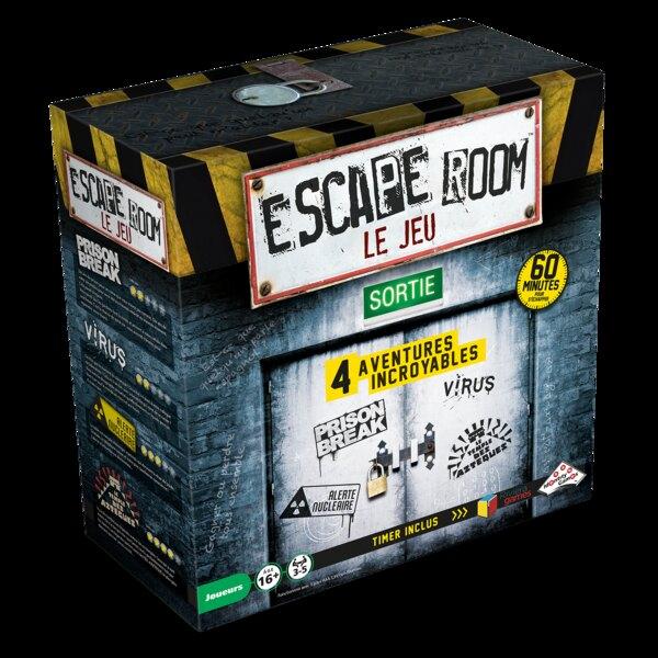 Escape-Spiele - Set mit 4 Spielen