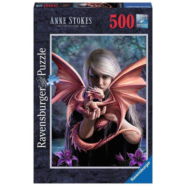 Das Drachenmädchen Puzzle 500 Stück