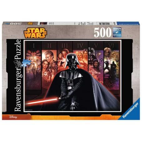 Die Star Wars / Star Wars-Saga Puzzle 500 Stück