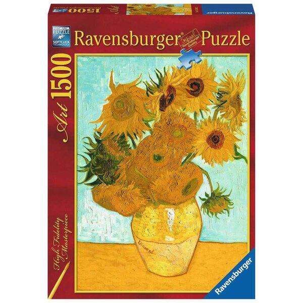 Die Sonnenblumen / Vincent Van Gogh Puzzle 1500 Stück