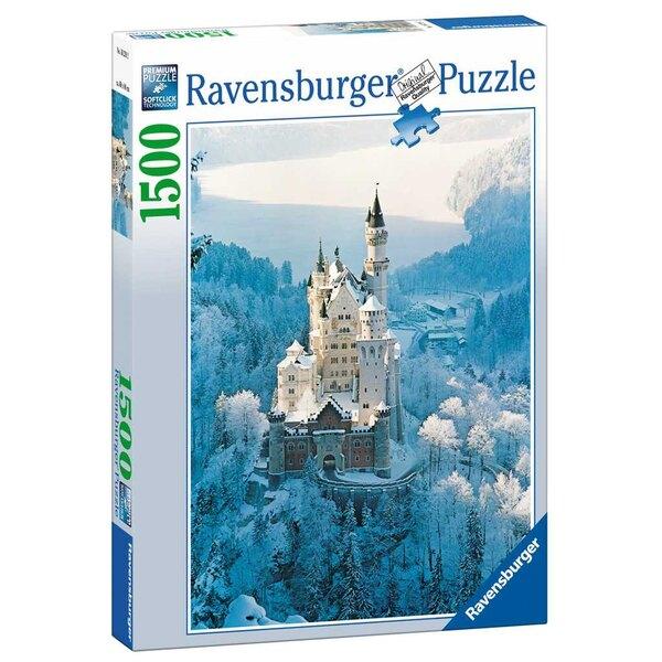Neuschwanstein im Winter Puzzle 1500 Stück