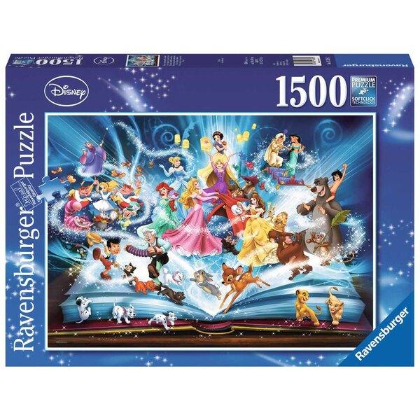 Das Zauberbuch der Disney-Märchen Puzzle 1500 Stück