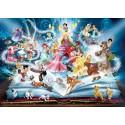 Puzzle Das Zauberbuch der Disney-Märchen Ravensburger RAV-163182