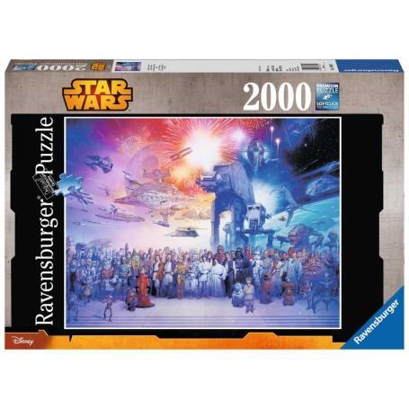 Das Star Wars / Star Wars-Universum Puzzle 2000 Stück