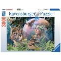 Puzzle Wölfe im Mondlicht Ravensburger RAV-170333