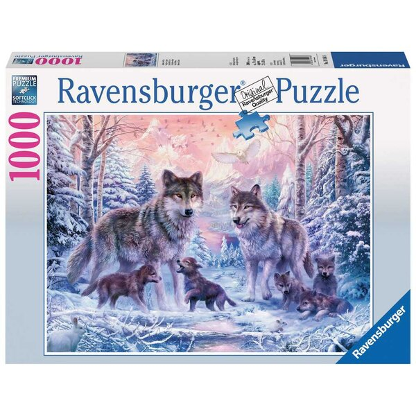 Arktische Wölfe Puzzle 1000 Stück