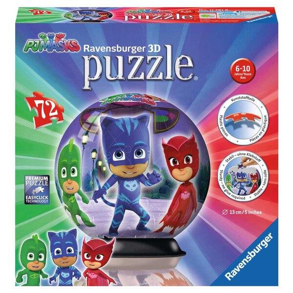 Pyjamasques Puzzle 3d 72 Stück
