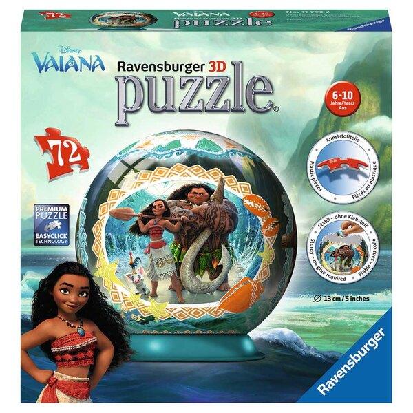 Vaiana Puzzle 3d 72 Stück