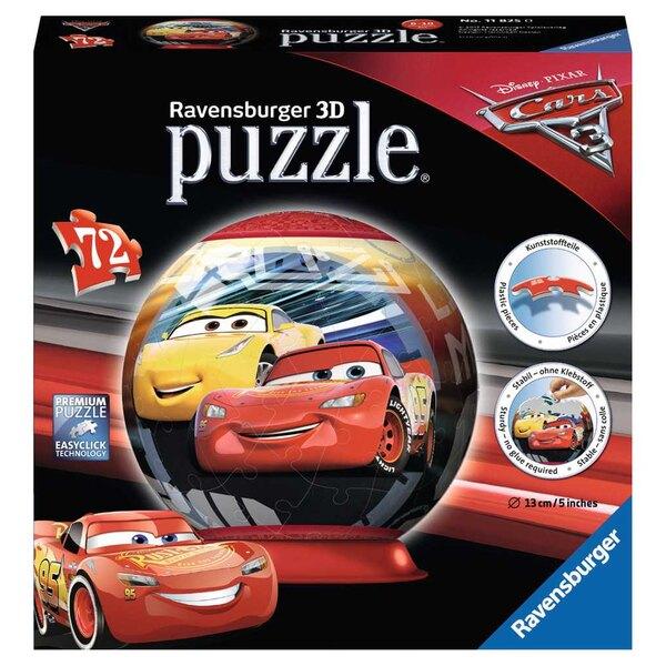 Autos 3 Puzzle 3d 72 Stück