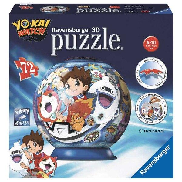 Yo-Kai-Uhr Puzzle 3d 72 Stück