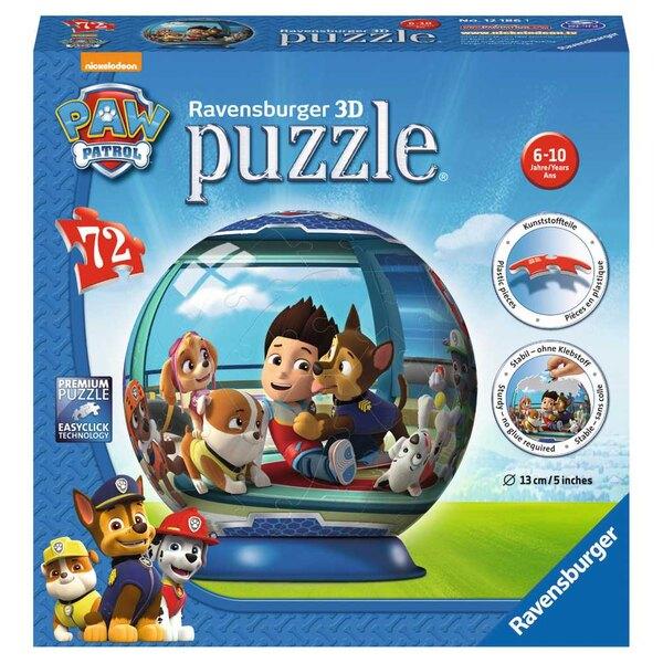 Pat'Patrouille Puzzle 3d 72 Stück