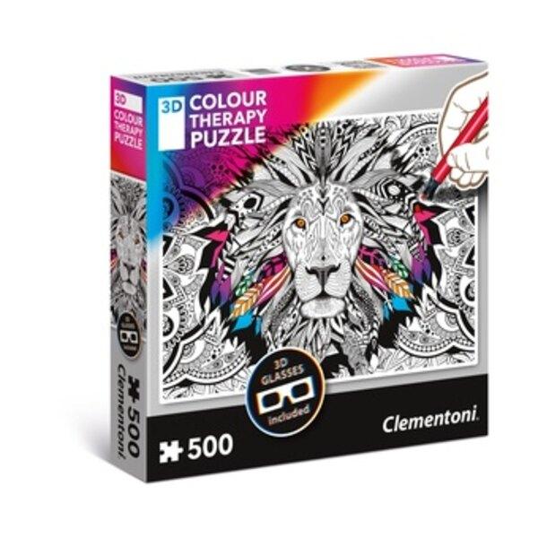 Löwe  Puzzle 500 Stück